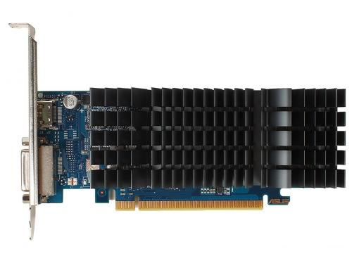 Видеокарта ASUS GT1030-SL-2G-BRK 2Gb 1228Mhz NVIDIA GT1030/GDDR5/6008/64 bit/PCI-E/ DVI HDMI