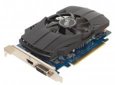 Видеокарта ASUS PH-GT1030-O2G 2Gb 1252Mhz NVIDIA GT1030/GDDR5/6008/64 bit/PCI-E/ DVI HDMI