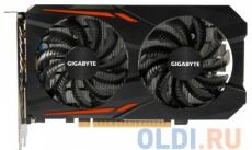 Видеокарта GIGABYTE GeForce GTX 1050 Ti OC 4G GV-N105TOC-4GD 4Gb 1316Mhz NVIDIA GTX1050 Ti/GDDR5/7008Mhz/128 bit/PCI-E/DVI,DP,HDMI