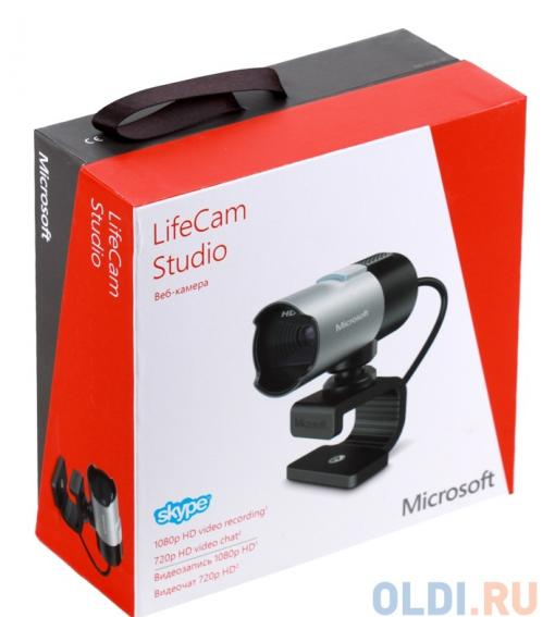 (Q2F-00018) Интернет-камера Microsoft LifeCam Studio USB Retail