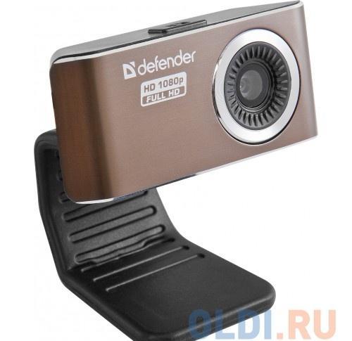Камера интернет Defender G-lens 2693 FullHD (HD 1080p) 2МП, фикс.фокус, 5сл. стекл.