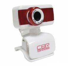 Камера интернет CBR CW-832M Red, универс. крепление, 4 линзы, 1,3 МП, эффекты, микрофон,