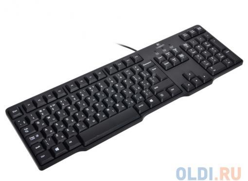 (920-003200) Клавиатура Logitech Keyboard K100 Black PS/2