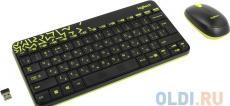 (920-008213) Клав. + Мышь Беспроводная Logitech Wireless Combo MK240 Nano Black
