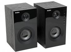 Колонки Sven SPS-615 black 2.0, Black (SV-013707) (20 Вт, 60 - 20 000 Гц, Bluetooth, mini Jack, USB, SD, MDF, 220V)
