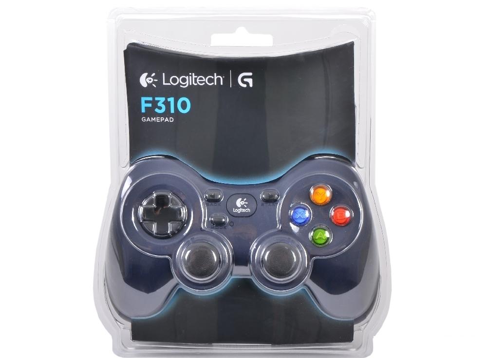 Геймпад (940-000135) Logitech Gamepad F310 USB (G-package) NEW