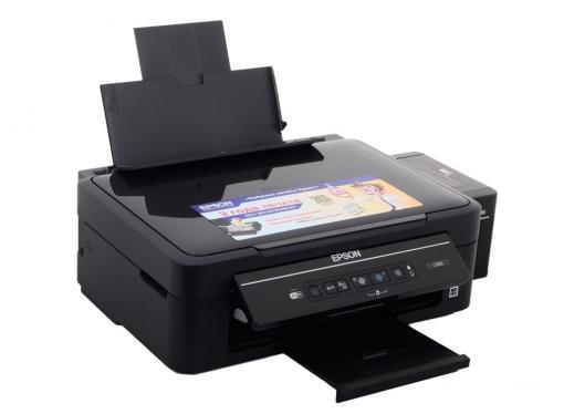 МФУ EPSON L366 (стр.+сканер/ копир, Фабрика Печати, 33ppm, 5760x1440dpi, струйный, A4, USB 2.0, WiFi)