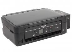 МФУ EPSON L486 (стр.+сканер/ копир, Фабрика Печати, 33ppm, 5760x1440dpi, струйный, A4, USB 2.0, WiFi)