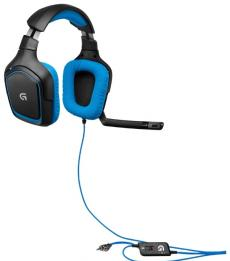 (981-000537) Гарнитура Logitech Surround Sound Gaming Headset G430 (G-package)