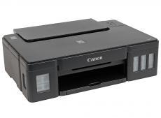 принтер canon pixma g1400 струйный, 4800x1200, 8,8 изобр./мин для ч/б, 5,0 изобр./мин для цветной, a4, a5, b5, ltr, конверт, фотобумага: 13x18 см, 10x