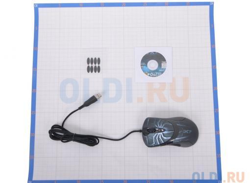 Мышь A4-Tech XL-747H, USB  6 кн, 1 кл-кн, 3600 dpi