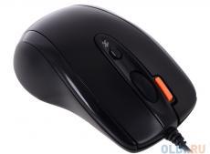 Мышь A4-Tech N-70FX-1, USB (черный) 2+1 кл-кн, V-Track