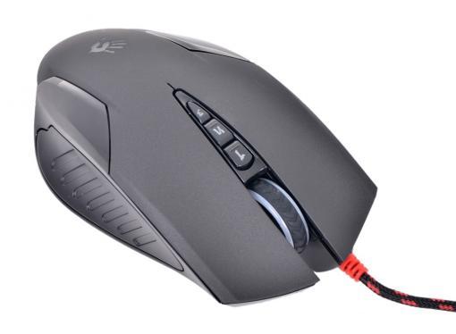 Мышь A4-Tech  Bloody V5, USB (черный) 8 кн, 3200 dpi