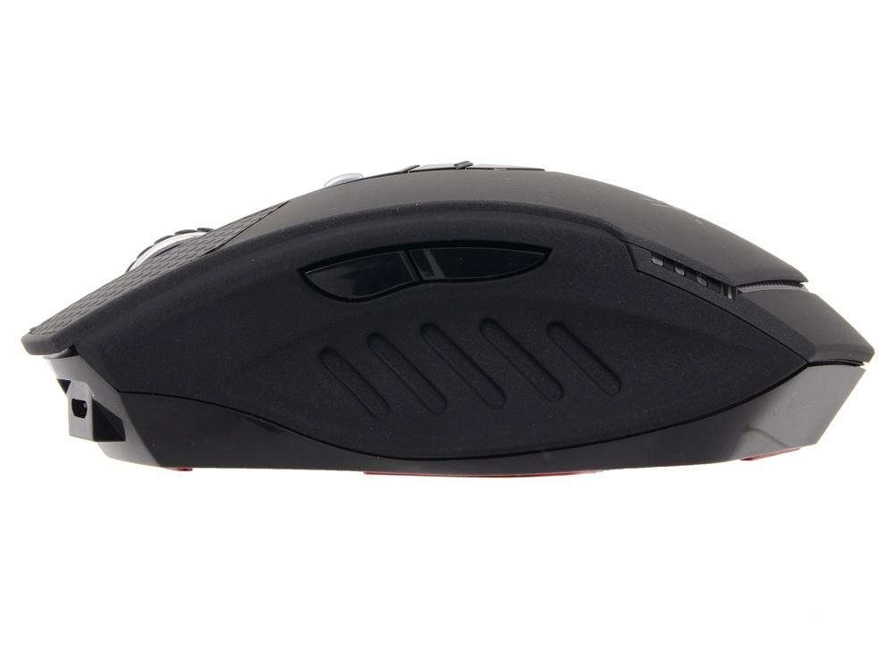 Мышь A4-Tech  Bloody Warrior RT7 черный оптическая (4000dpi) беспроводная USB2.0 игровая (9but)