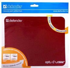 Коврик для  мыши Defender  пластиковый Silver opti-laser  220х180х0.4