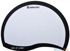 Коврик для  мыши Defender  пластиковый Ergo opti-laser Black (черный) 215х165х1.2 мм