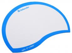 коврик для  мыши defender  пластиковый ergo opti-laser blue (синий) 215х165х1.2 мм