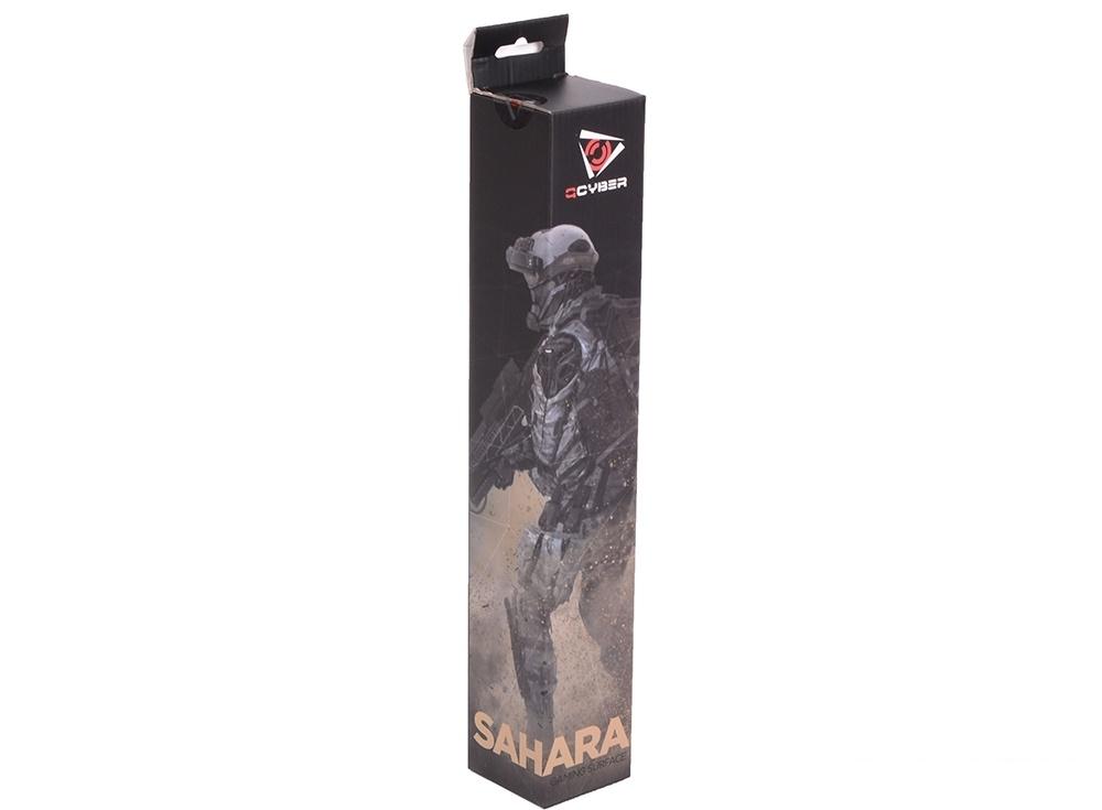 Коврик для мыши  QCYBER SAHARA, игровая поверхность,  размер 430x360x4 мм, поверхность: тонкое плетение, основа: натуральный каучук, оверлок.