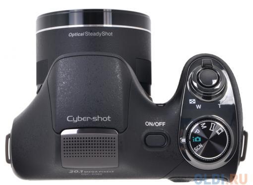 Фотоаппарат SONY DSC-H300 Черный (20.1Mp, 35x zoom, 3