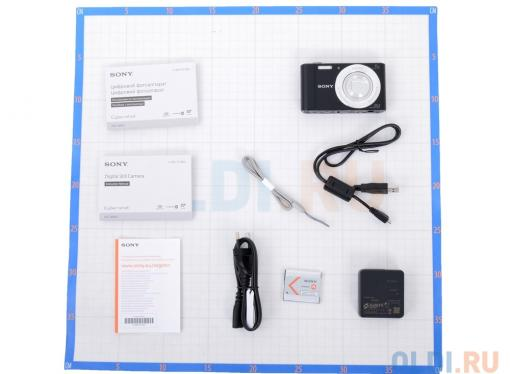 Фотоаппарат SONY DSC-W810B Black (20Mp, 6x zoom, 2.7