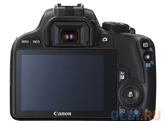 фотоаппарат canon eos 100d kit <зеркальный, 18mp, ef18-55 dc iii, 3