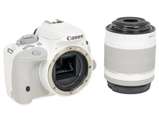 Фотоаппарат Canon EOS 100D IS KIT White (зеркальный, 18Mp, EF18-55 IS STM, 3