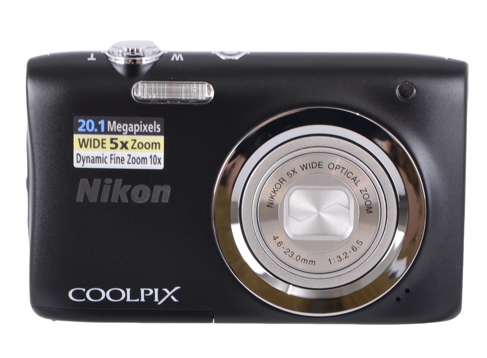 Фотоаппарат Nikon Coolpix A100 Black (20.1Mp, 5x zoom, SD, USB, 2.6