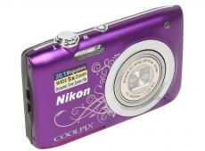 Фотоаппарат Nikon Coolpix A100 Purple Lineart (20.1Mp, 5x zoom, SD, USB, 2.6