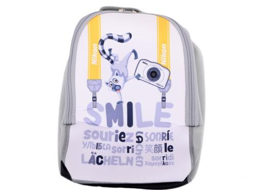 фотоаппарат nikon coolpix w100 white backpack kit <13.2mp, 3x zoom, 2.7