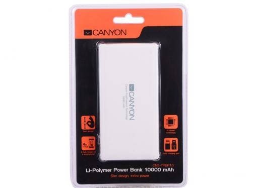 Внешний аккумулятор Canyon CNS-TPBP10W