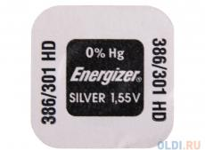 Батарейки Energizer Silver Oxide 386/301 1шт. (635707)