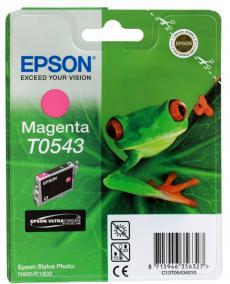 Картридж Epson Original T054340 (Photo R800)  пурпурный