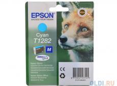 Картридж Epson Original T1282 (cyan) для S22/SX125 (C13T12824011)