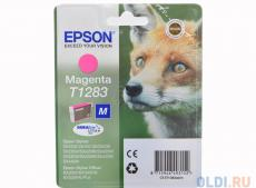 Картридж Epson Original T1283 (magenta) для S22/SX125 (C13T12834011)