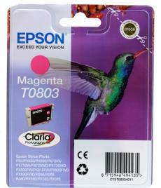 Картридж Epson Original T08034011 пурпурный для P50/PX660