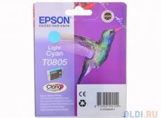 Картридж Epson Original T08054011 светло-голубой для P50/PX660