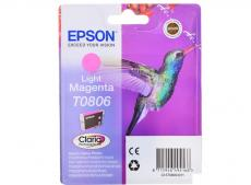 Картридж Epson Original T08064011 светло-пурпурный для P50/PX660