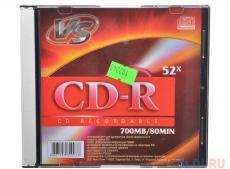 CD-R VS 700Mb 52х Slim