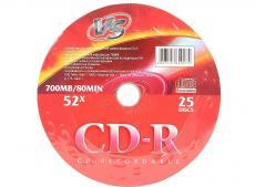 CD-R VS 700Mb 52x 25шт Shrink