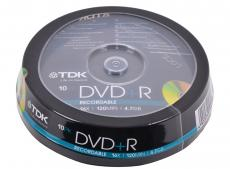 DVD+R TDK 4.7Gb 16x 10шт Cake Box