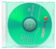 DVD+R Verbatim 4.7Gb 16x Slim