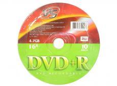 DVD+R VS 4.7Gb 16x 10шт Shrink