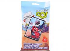 Влажные салфетки для мобильных устройств. 50шт. TechPoint 48904 Angry Birds