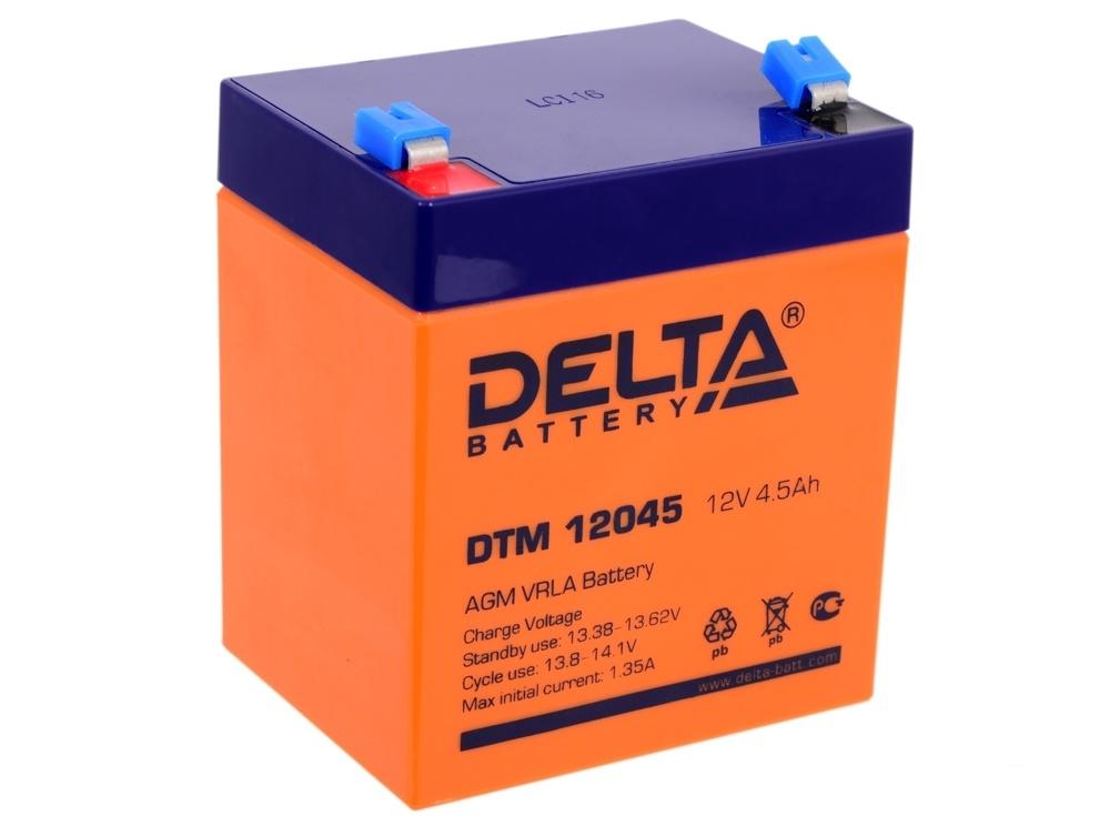 Аккумулятор Delta DTM 12045 12V4.5Ah
