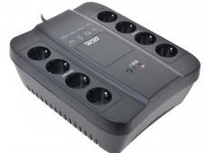ИБП Powercom SPD-1000U Spider 1000VA/550W USB,AVR,RJ11,RJ45 (4+4 EURO)