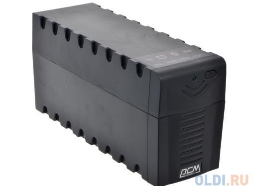 ибп powercom rpt-600ap raptor 600va/360w avr,usb (3 iec)