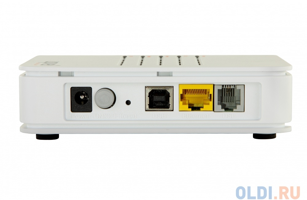 Модем UPVEL UR-101AU  ADSL/ADSL2+ роутер  с одним портом LAN  и портом  USB с поддержкой IP-TV