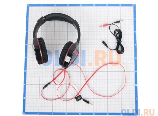 Гарнитура  A4Tech Bloody G500 черный/красный (2.2м) микрофон