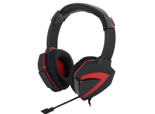 Гарнитура  A4Tech Bloody G501 черный/красный (2.2м) микрофон, регулятор гр. (surround)