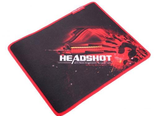 Набор игровой A4-Tech Bloody Наушники с микрофоном A4 G500 + Мышка V5 + Коврик B-072 черный/красный 2.2м мониторы (V5G5PB72)